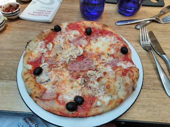 Pizza Express London 94 Dulwich Vlg Menu Prices