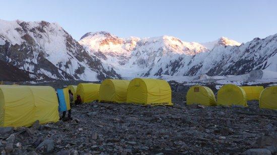Khan Tengri Peak: CB Inylchek Sur