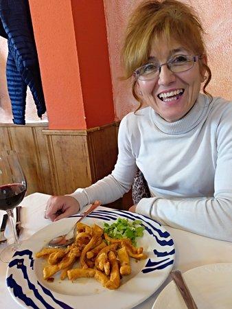 Albandi, Spain: Excelentes calamares !!!