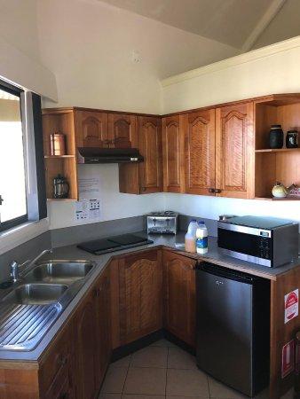 Blackheath, Australien: Kitchen area in couples room