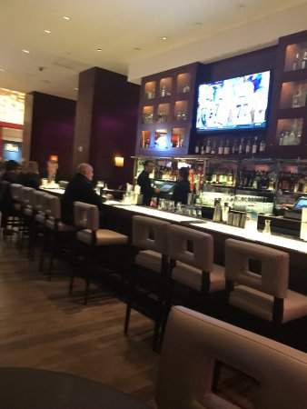 Crowne Plaza Times Square Manhattan: Bar Area at restaurant