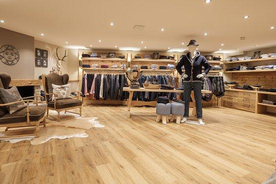 Sonnenalp Resort: Shopping-Welt