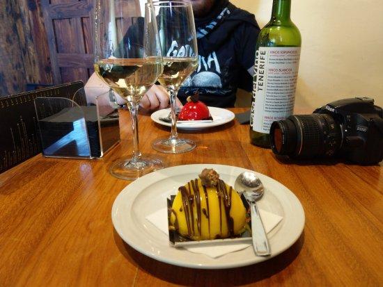 Casa Del Vino La Baranda: I dolci