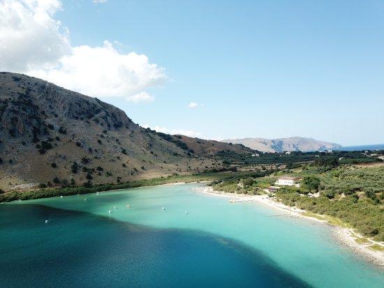 Kournas, Grecja: Air footage