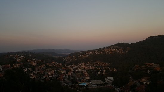 Corbera de Llobregat, Spain: Sunset view