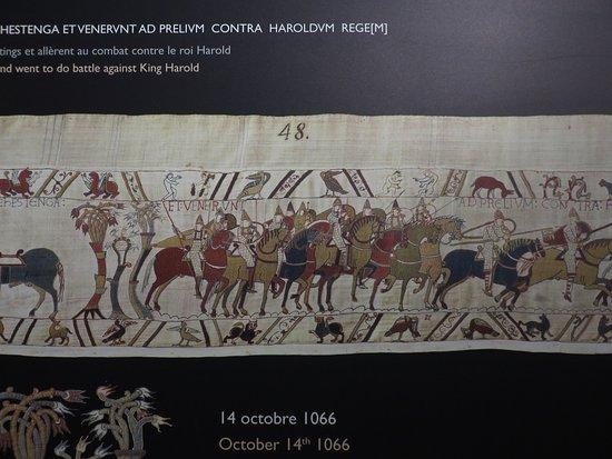 Museo del Tapiz de Bayeux: Scene 48: The battle