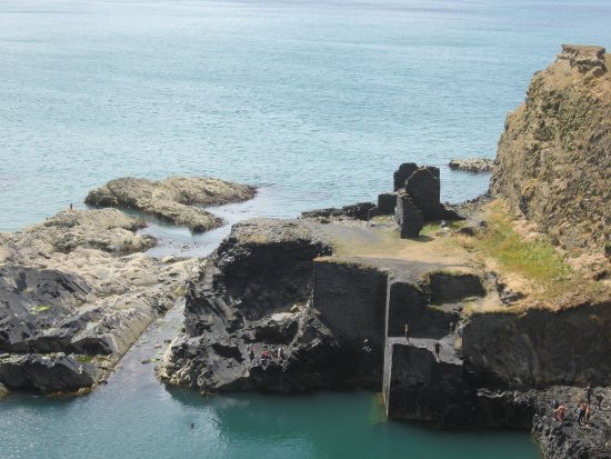 Abereiddy, UK: Klippenspringerparadies