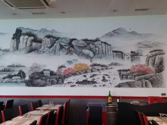 Interior nh c a wok158 restaurante cuatro cocinas - Wok 4 cocinas granollers ...