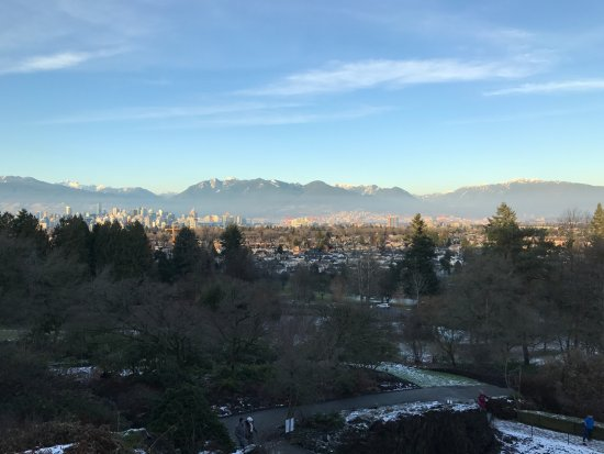 Parque de la Reina Isabel: Vista de Vancouver 1