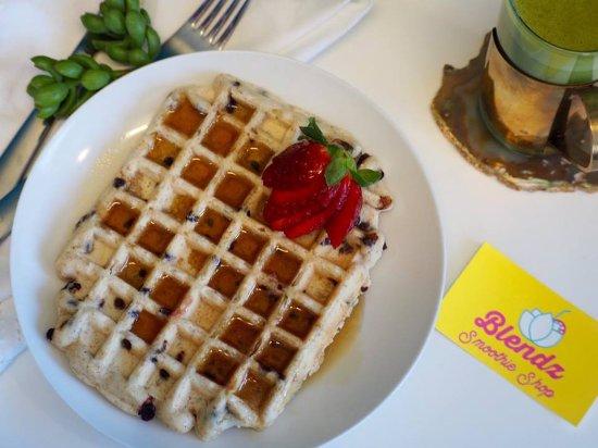 Deep River, Canadá: vegan waffles