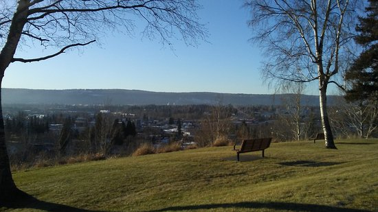 Prince George, Canada: The view from the top of Connaught Hill Park is incredible! Perfect for nature lovers.
