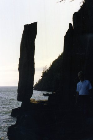 Tiverton, Καναδάς: Balancing Rock, Nova Scotia, Canada