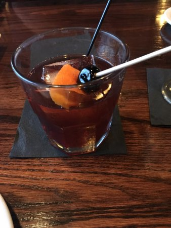 Back Room Steakhouse: The Back Room Old Fashioned