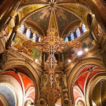 Basilique d'Ars: Sanctuaire d'Ars Basilique, Le Saint Curé Ars-sur-Formans 01 FRANCE