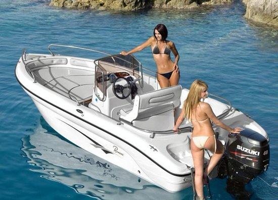 Agia Pelagia, Grecia: aqua star rent a boat agiapelagia crete