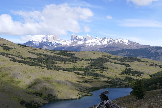Torres del Paine National Park, Cile: View of Laguna Stokes