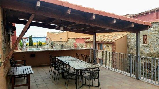 cal ball terraza con prgola - Pergola Terraza