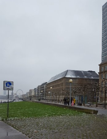Rheinufer: A great area of Dusseldorf