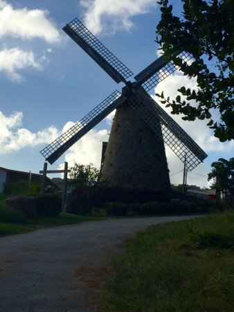 Morgan Lewis Sugar Mill: The windmill at the end of the day