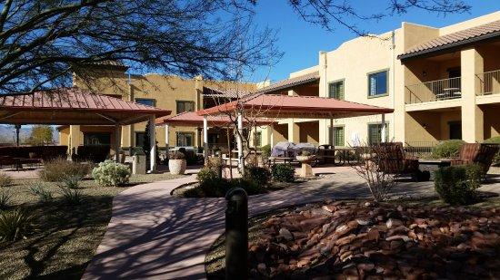 Highlands Resort at Verde Ridge : Courtyard