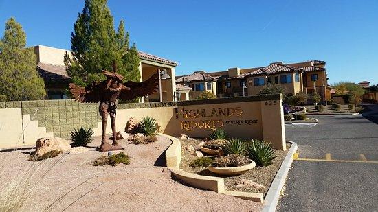 Highlands Resort at Verde Ridge : Entrance