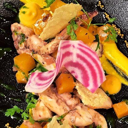 Restaurant Stadthaus: Kürbis-Pulpo-Salat