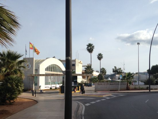 Denia, Spain: Entrance to clubhouse
