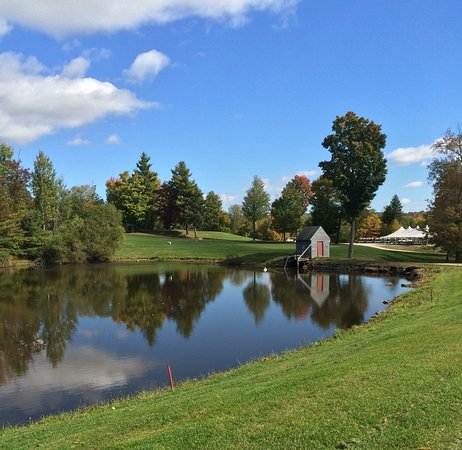 Loudon, NH: Pond by the 10th hole