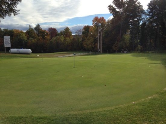 Loudon, NH: Practice your putting or hit a few balls on the driving range