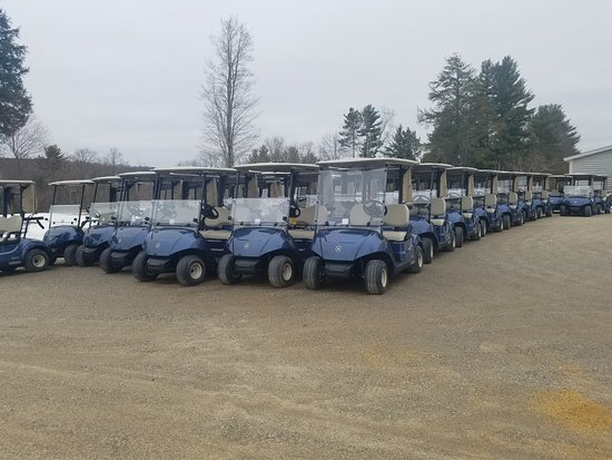Loudon, NH: Enjoy the course with one of our carts!