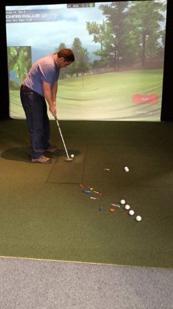 Loudon, NH: Tee it up and keep that swing in shape no matter the weather, with our Virtual Golf Simulator!
