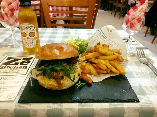 ZE Kitchen: Burger du moment