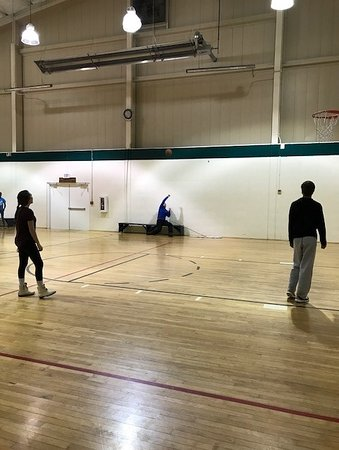 Daniels, Virginie-Occidentale : In door basketball court