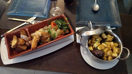 Estremadura, Portugal: Bacalhau e Veado! :D