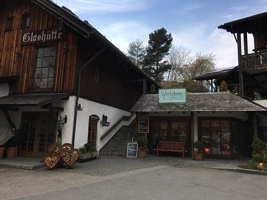 Arnbruck, Germany: Snowy Shops