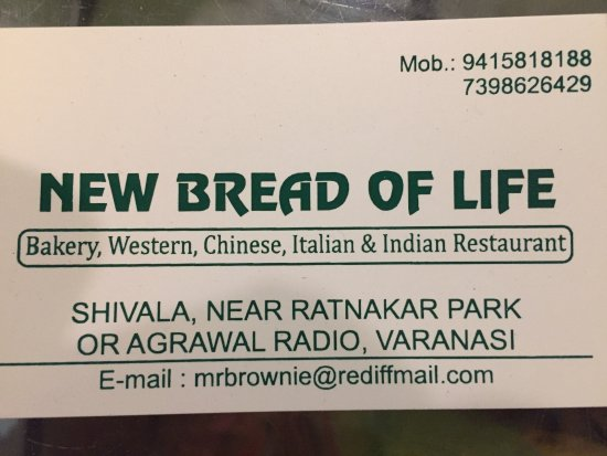 Bread of Life Bakery: New Bread Of Life