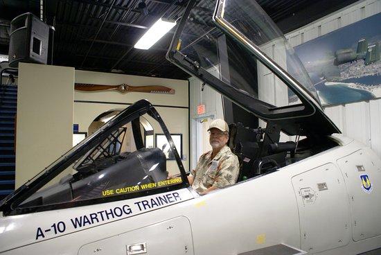 Air Force Armament Museum: Display inside