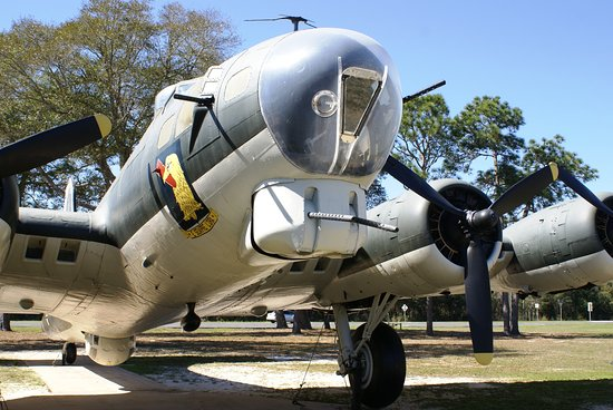 Air Force Armament Museum: Outside display