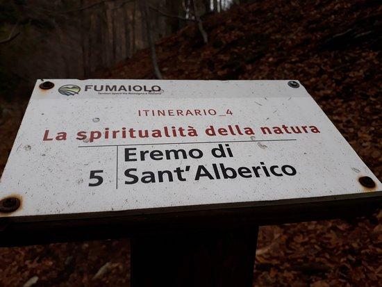 Eremdi Sant'Alberico: itinerario spirituale