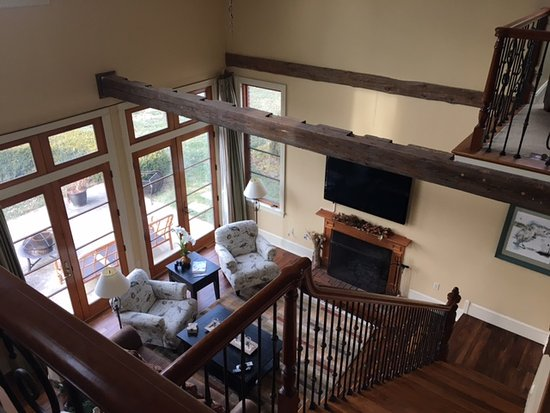 Chestertown, MD: Living Room view from the loft