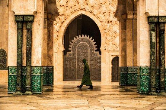 الدار البيضاء, المغرب: Hassan II mosque
