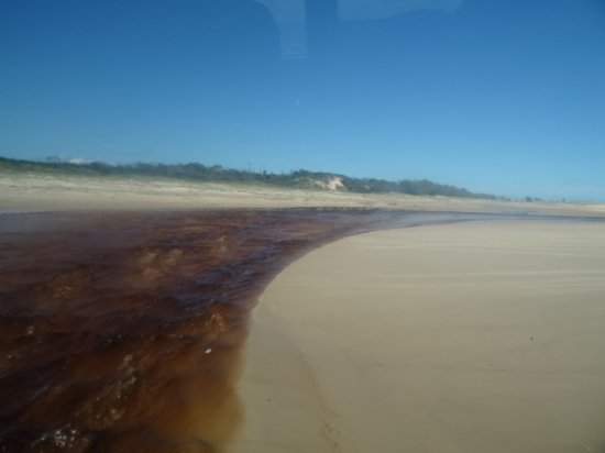 how to get to fraser island from noosa
