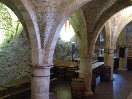 Chateau de Vianden: Área coberta