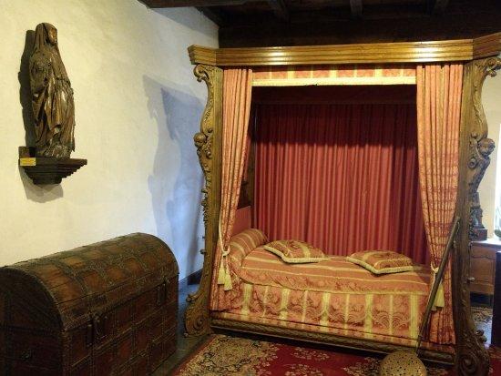 Chateau de Vianden: Quarto de casal