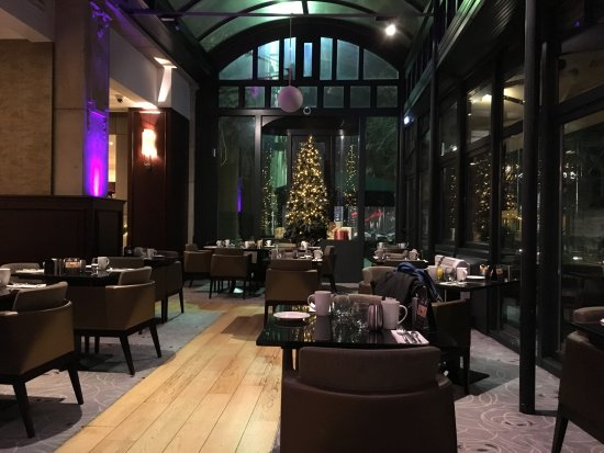 A seating area near the windows. - Picture of Brasserie Flo Antwerp ... 631b97839cb