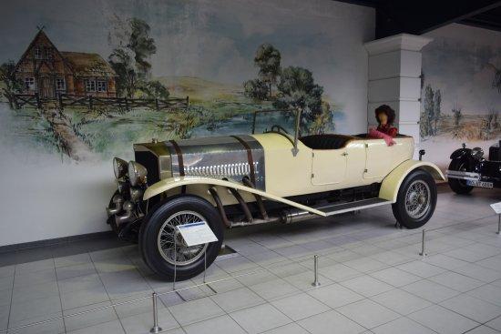 EFA Automobilmuseum: auto d'epoca
