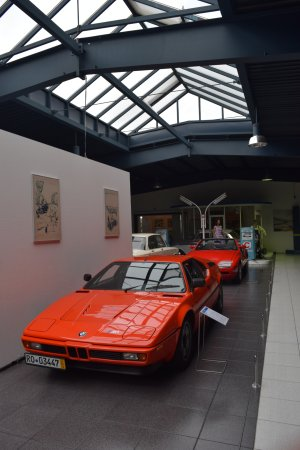 EFA Automobilmuseum: auto esposte