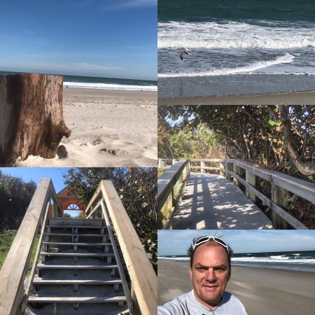 Indialantic Boardwalk and Seashore