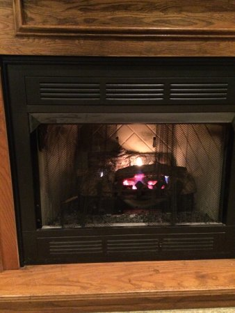 Grenada, MS: Warm seat by the fire on a cold, rainy January day