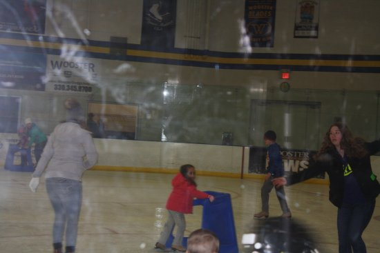 Wooster, OH: rink - open skate